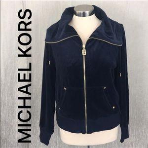 ⭐️ MICHAEL KORS VELOUR JACKET 💯AUTHENTIC